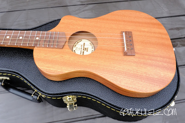 Bonaza Homestead baritone ukulele body