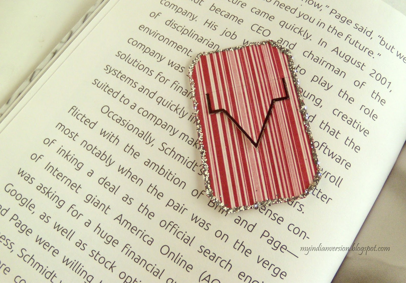 My indian version diy bookmarks in 10 different ways for Cool ways to make bookmarks