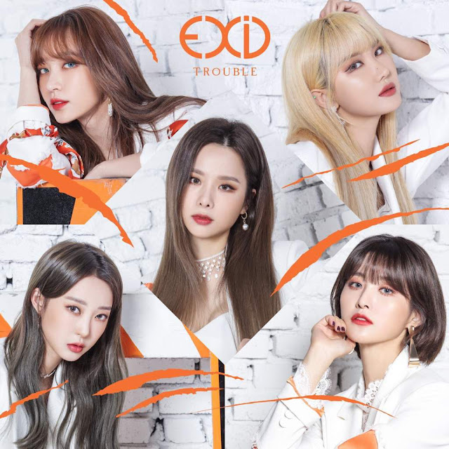 EXID MV Album Japonés Trouble
