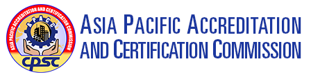 xDRAFTxAsia Pacific Accreditation and Certification Commission