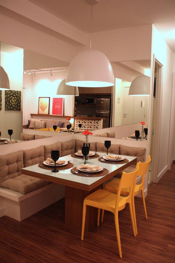 Sala De Jantar Planejada Pequena Cozinha Planejada Para Apartamento  -> Sala De Estar Planejada Pequena