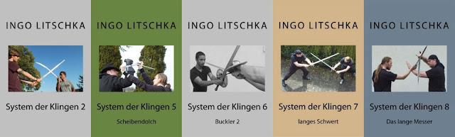 Buckler, Messer, langes Schwert und Dolch in der Sachbuch Serie , System der Klingen, von Ingo Litschka