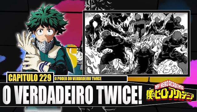 Boku no Hero Academia 229-O VERDADEIRO TWICE! PODER DA INDIVIDUALIDADE