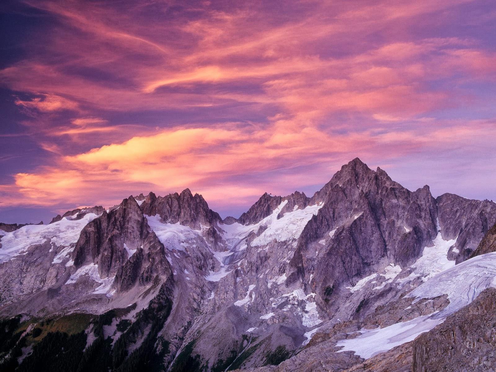 Fondo De Montañas Nevadas En Hd: Descarga Fondos HD: Fondo De Pantalla