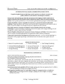 MBA Marketing Resume Sample