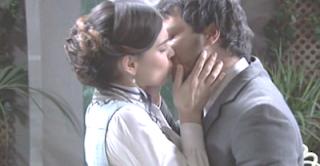 Leonor Pablo Una vita bacio