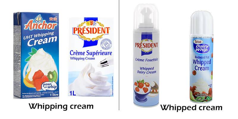 Heavy cream là gì?