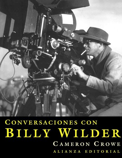 Cover for the Spanish edition of Conversations with Wilder