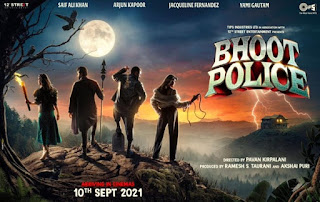 Bhoot Police First Look Poster 2