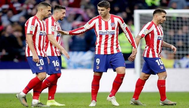 تشكيل أتليتيكو مدريد ضد برشلونة عبر سوفت سلاش