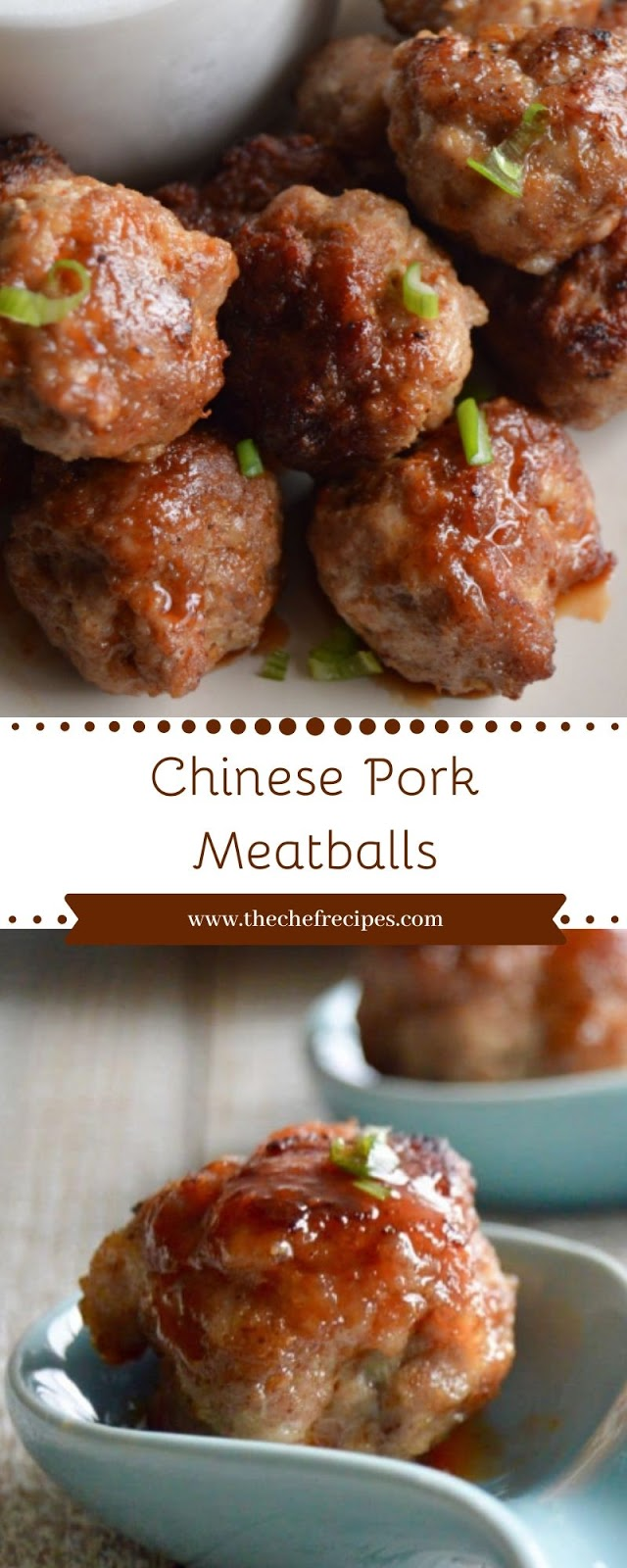 Chinese Pork Meatballs