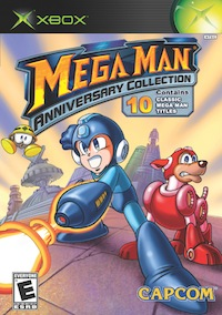 Mega Man Anniversary Collection original xbox