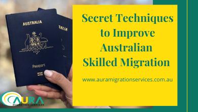 11 Secret Techniques to Improve Australian Skilled Migration