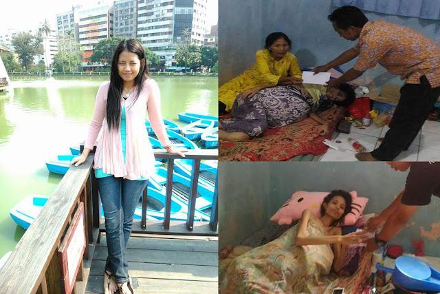 Mantan TKW Taiwan Ini Sekarang Sedang Berjuang Melawan Kanker Usus dan Butuh Bantuan Dana