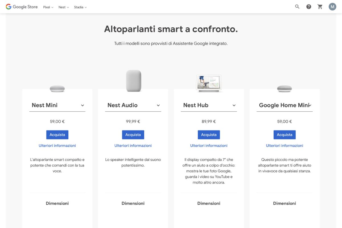 Dove comprare Google Home