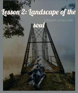 AHSEC | Lesson 2 | Landscape of The Soul notes Class 11 English | Questions Answers