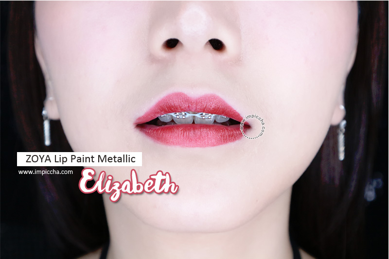 ZOYA Lip Paint Metallic - Elizabeth
