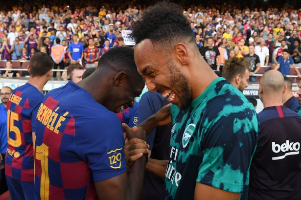 Can Aubameyang convince Barcelona ace to move to Arsenal?