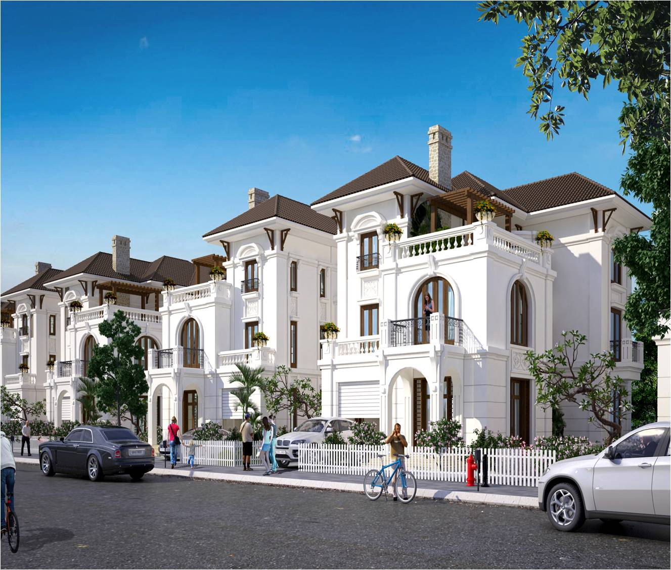 Biệt thự Embassy Garden - Mẫu thiết kế số 2