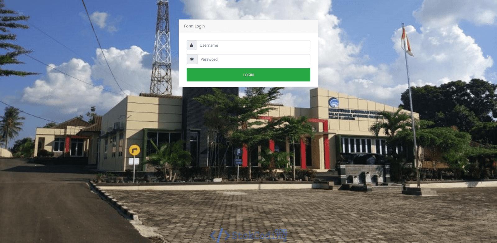 Aplikasi Web Peminjaman Barang (Codeigniter)