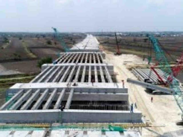 Jalan Tol Krian, Legundi, Bunder dan Manyar Ditargetkan Beroperasi Akhir 2019