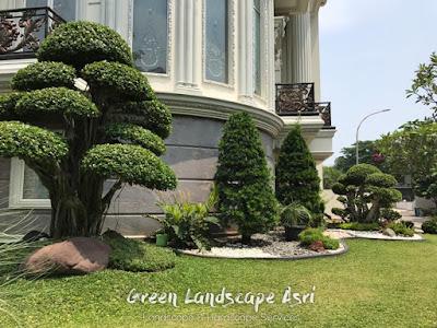 Taman Klasik - Desain Taman Untuk Rumah Mewah