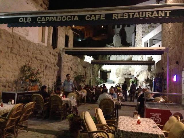 Restaurante Old Cappadocia na Capadócia