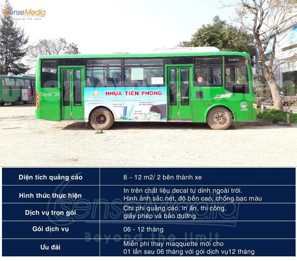 Quảng Cáo Xe Buýt Tại Quảng Ngãi Báo Giá Quảng Cáo Xe Bus