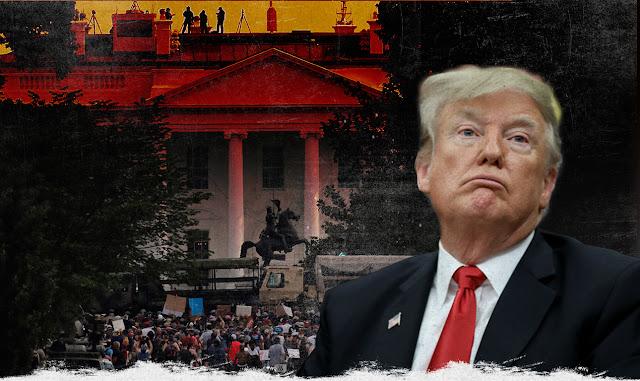 Ο Τραμπ μπροστά στην τέλεια πολιτική καταιγίδα