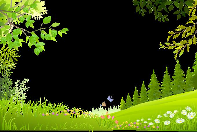 paisaje de la naturaleza, dibujos animados árboles plantas verde hierba material de fondo, ilustración árboles verdes, modelo, hoja png by: pngkh.com