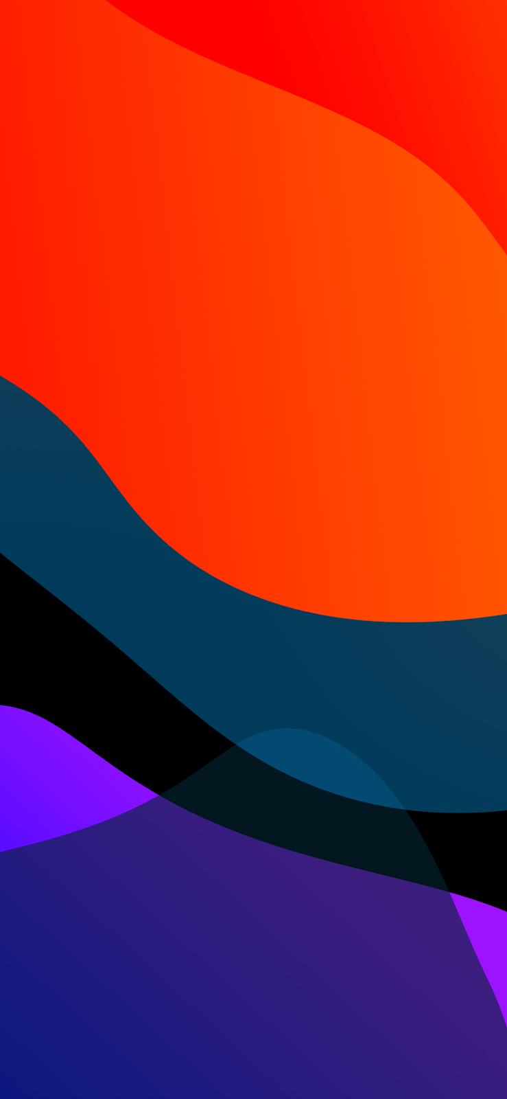 Geometric Curves (iOS13 inspired) by AR72014