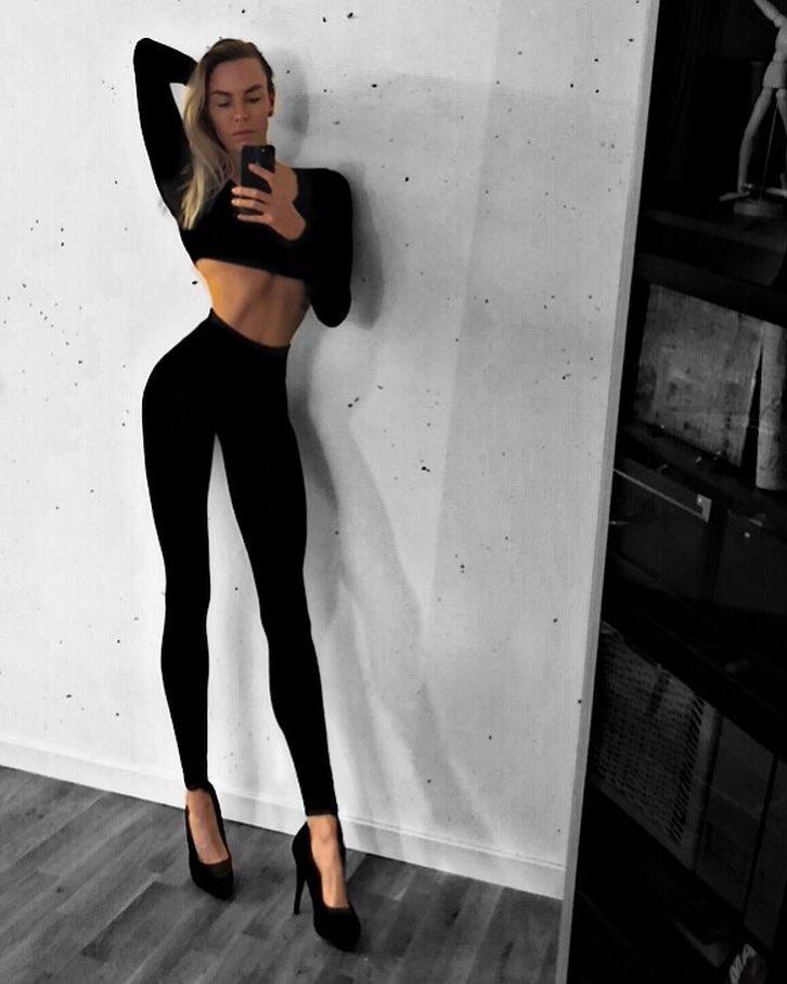 Ия Остергрен: Самые длинные женские ноги Шведции