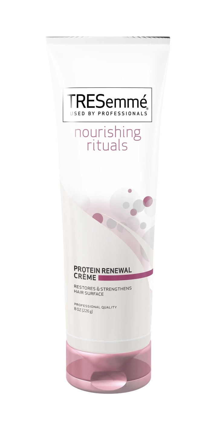 Tresemmé Nourishing Rituals Protein Renewal Cream 4 29 A Deep Conditioning Treatment Made With Soy Proteins To Strengthen Damaged Hair