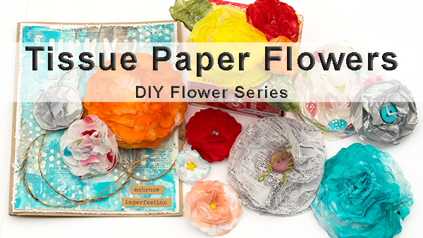 Layers of ink - Tissue Paper Flower Class on Skillshare by Anna-Karin