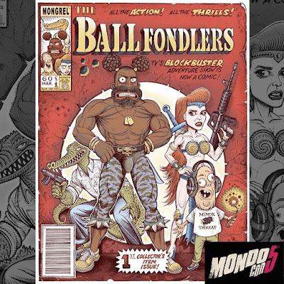 "MondoCon 2019 Exclusive Rick & Morty ""Ballfondlers"" Screen Print by Florian Bertmer"