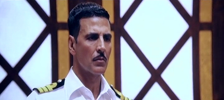 Screen Shot Of Rustom 2016 300MB DVDScr Full Hindi Movie Watch Online Free Download