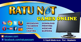 Download Spanduk Warnet Game Online Vector