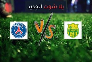 نتيجة مباراة باريس سان جيرمان ونانت اليوم السبت بتاريخ 31-10-2020 الدوري الفرنسي