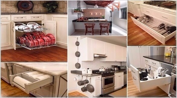 أفكار ديكور مطبخ بسيط وغير مكلف
