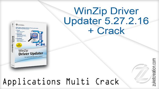 WinZip Driver Updater 5.27.2.16 + Crack
