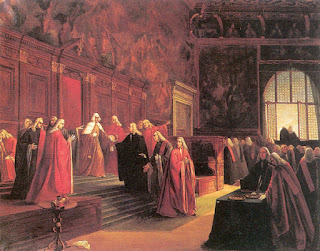 The conclave of the Venetian Grand Council at which Ludovico Manin formally abdicated