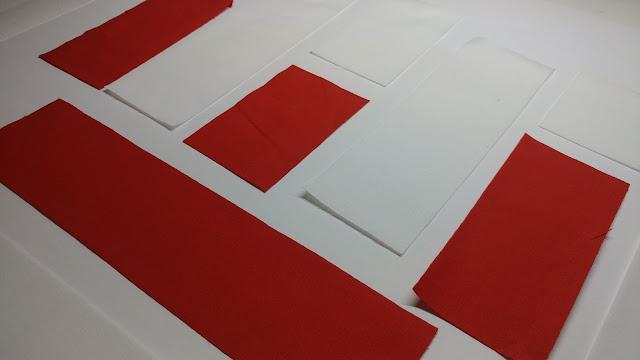 Letter E quilt block
