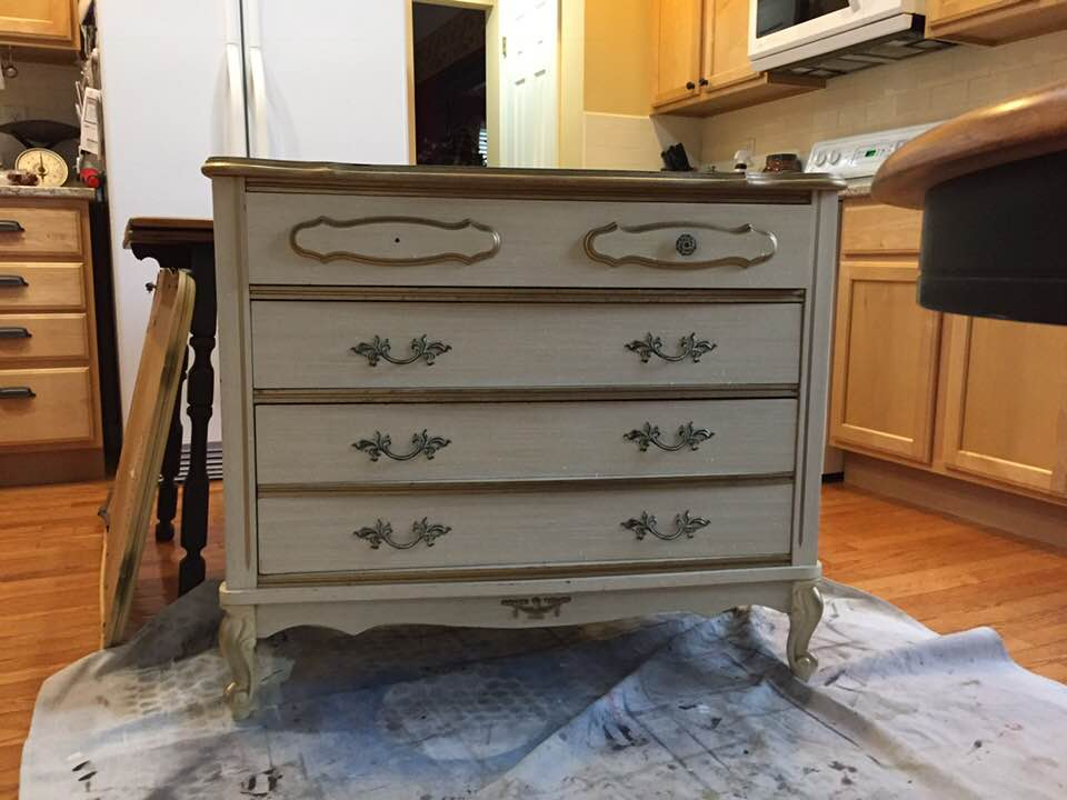Before Sears Bonnet French Provincial Dresser