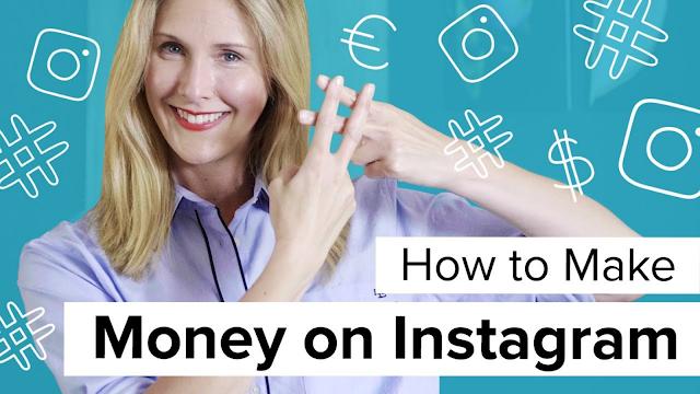 Earn money through instagram