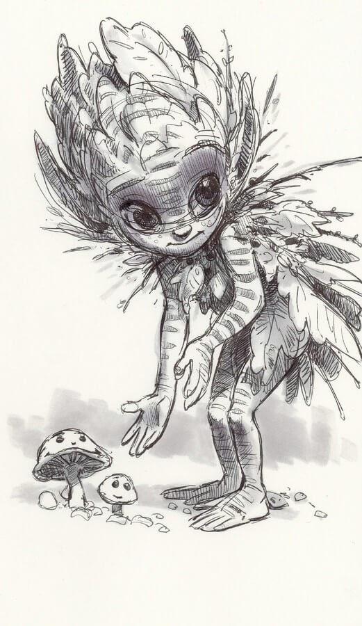 01-Aaron-Blaise-Creature-Sketches-www-designstack-co