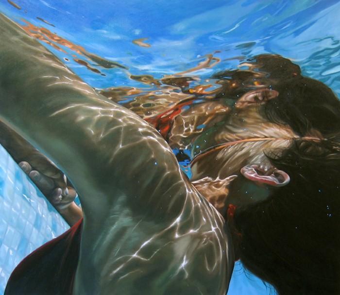 Eric Zener. Художник-самоучка. Вода и люди 23