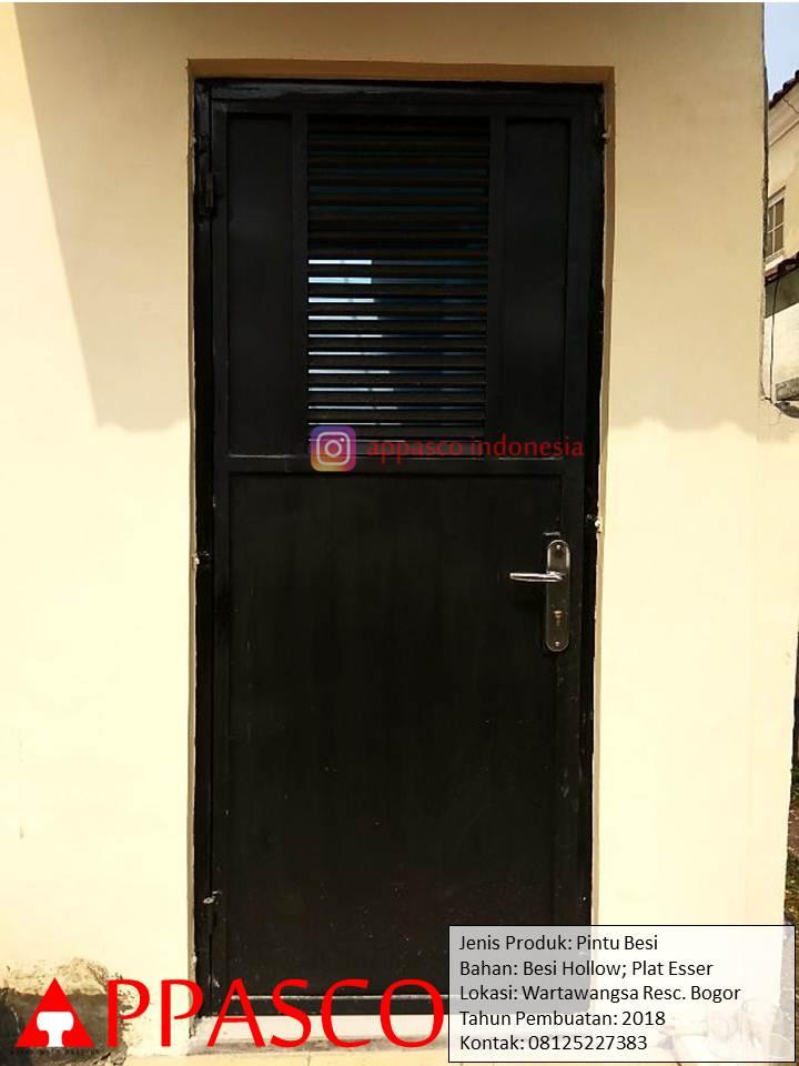 Pintu Besi Pintu Samping Rumah Di Wartawangsa Bogor Jual Kanopi