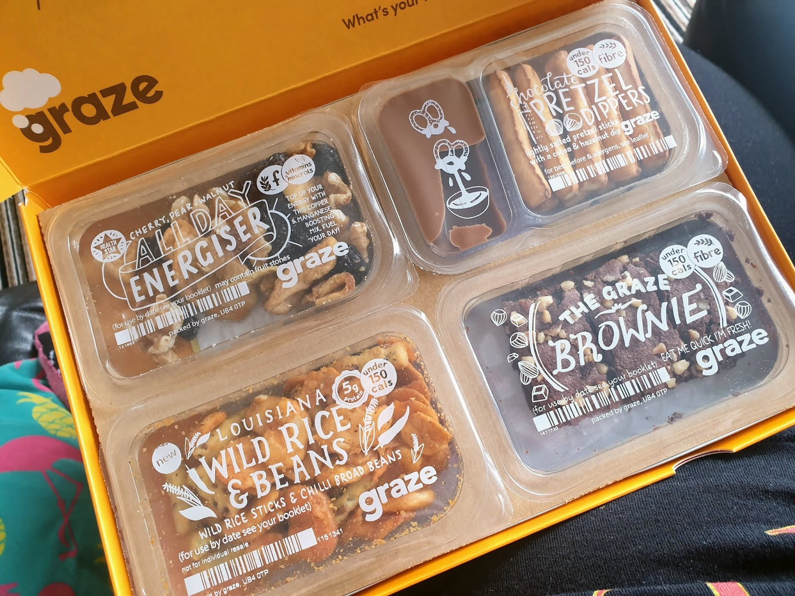 graze light snacks
