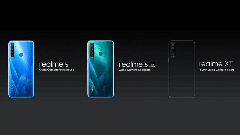 Realme XT is the 64MP quad-camera beast of the company