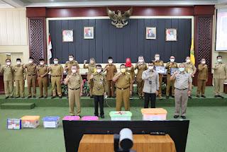Rakor Bersama Wakil Ketua KPK, Gubernur Arinal Ajak Bupati/Walikota Satukan Langkah Cegah Korupsi demi Mewujudkan Clean dan Good Governance